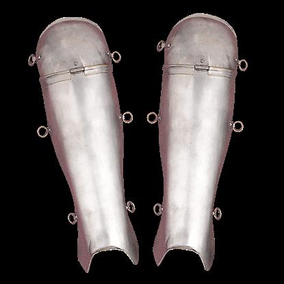 Roman Steel Greaves