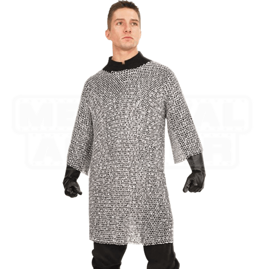 Riveted Aluminum Chainmail Shirt
