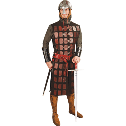 Leather Plated Armor Coat