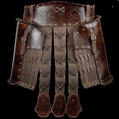 Odomar Viking Leather Tassets