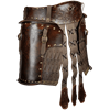 Odomar Viking Leather Tassets