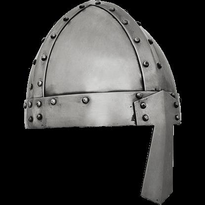 Spangenhelm with Medium Flare Nasal Guard