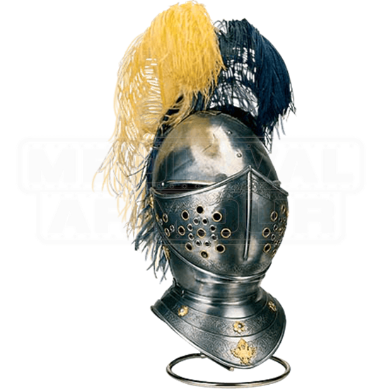 Engraved Spanish Horse Helmet by Marto