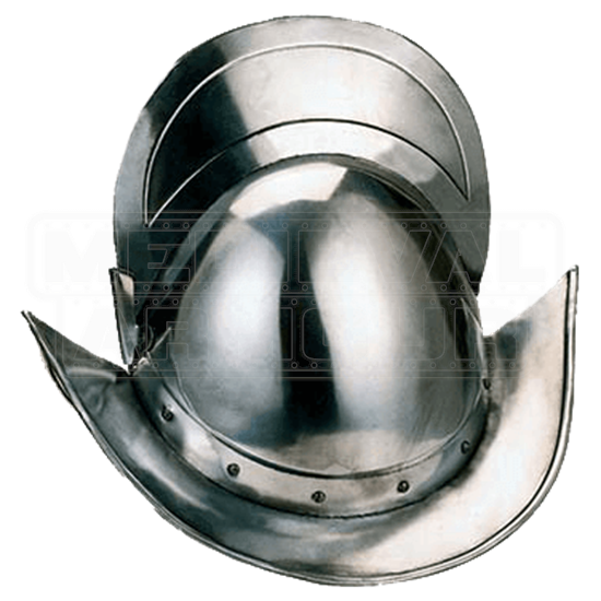 Spanish Round Morion Helmet by Marto