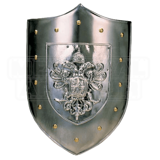 Plain Steel Shield of Charles V by Marto