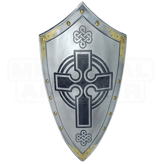 Templar Knight Scottish Cross Shield by Marto