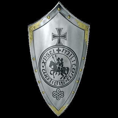 Templar Knight Steel Shield by Marto