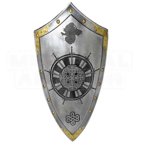 King Arthur Round Table Shield by Marto