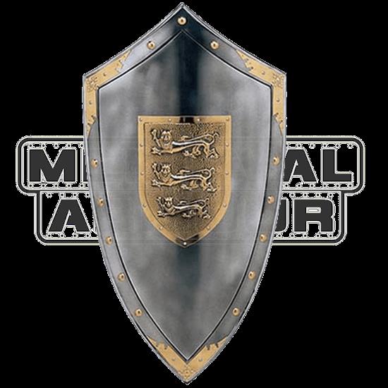 Metallic King Richard the Lionheart Shield by Marto