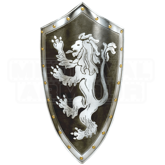 Rampant Lion Shield by Marto