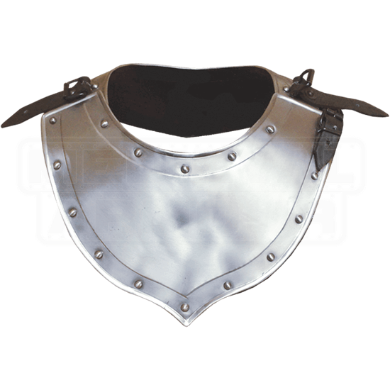Small Steel Balthasar Gorget