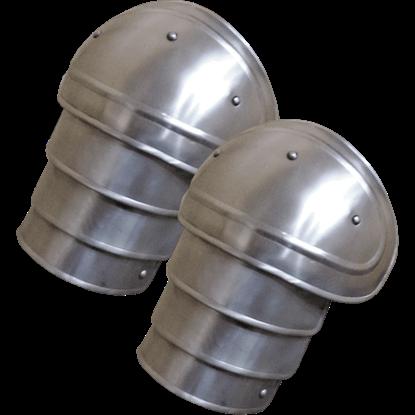 Small Steel Adam Spaulders