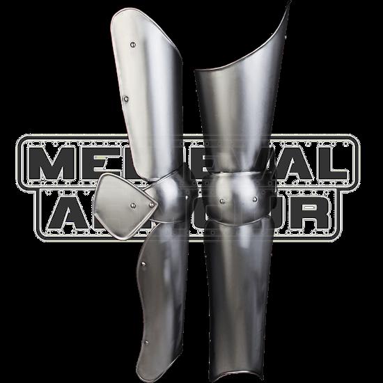 Steel Elias Full Leg Guards