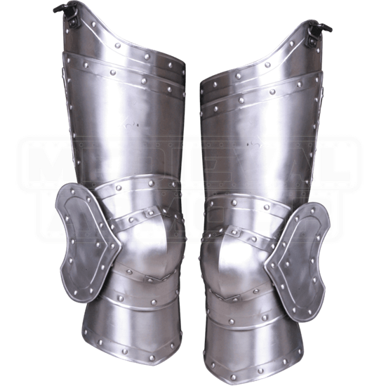 Steel Balthasar Full Leg Guards