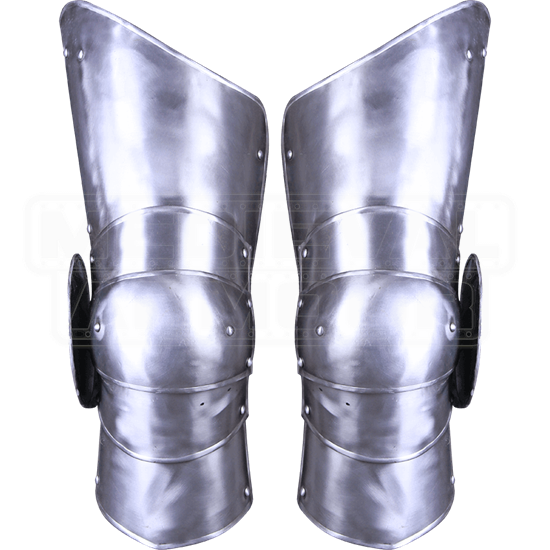 Steel Gustav Full Leg Guards