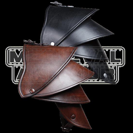 Crisso Leather Spaulder