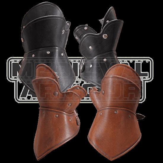 Decius Leather Gauntlets