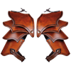 Kendra Leather Spaulders for Ladies