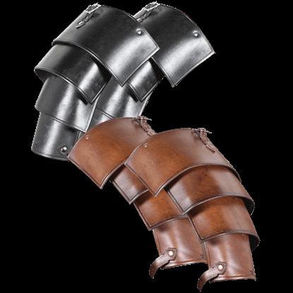 Lorica Leather Spaulders