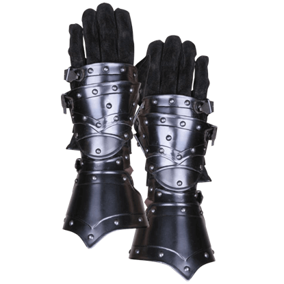 Blackened Balthasar Gauntlets