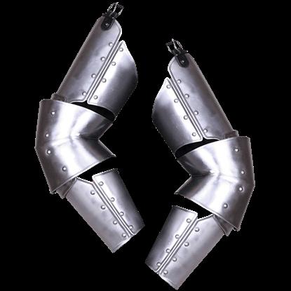 Steel Markward Full Arm Guards