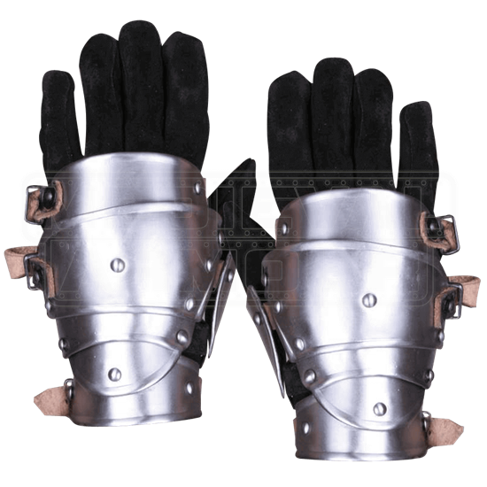 Steel Markward Short Gauntlets