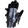 Blackened Markward Short Gauntlets