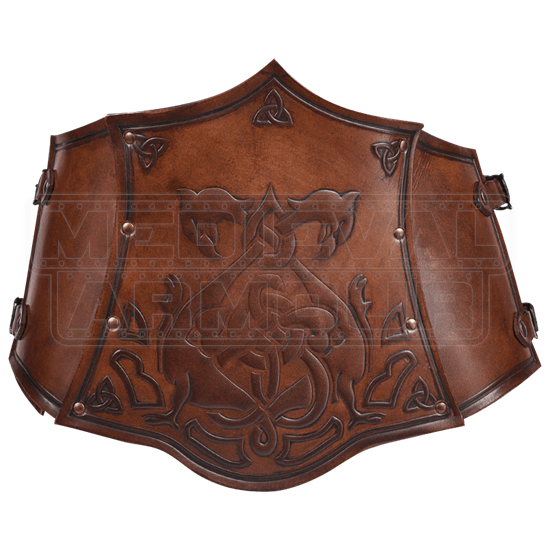Celtic Isolde Leather Bodice