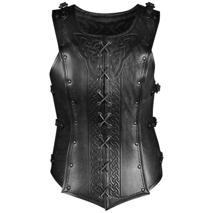 Artemis Celtic Leather Cuirass for Ladies