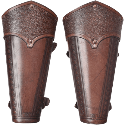 Anvard Leather Bracers