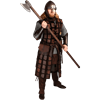 Osric Leather Brigandine