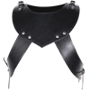 Octavius Leather Gorget