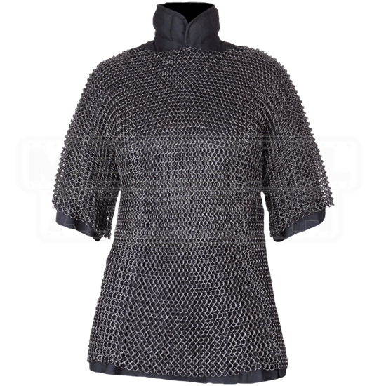 David Blackened Chainmail Hauberk