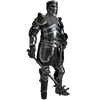 Edward Darkened Armour Set