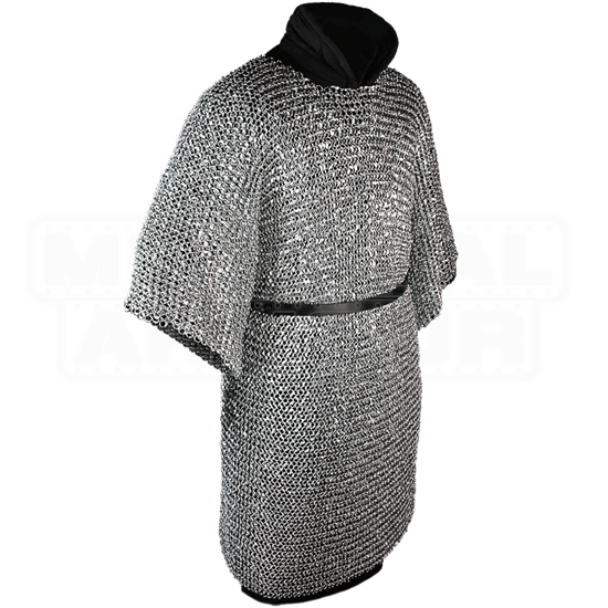 John Riveted Steel Chainmail Hauberk