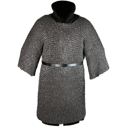John Riveted Oiled Chainmail Hauberk