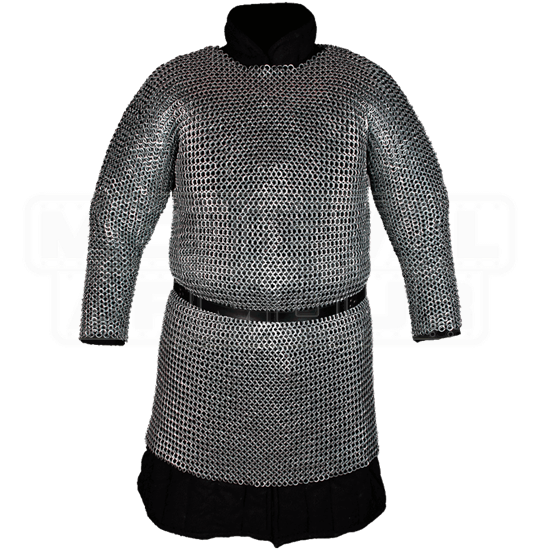 Richard Steel Flat Ring Chainmail Hauberk