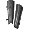 Celtic Mantikor Leather Greaves