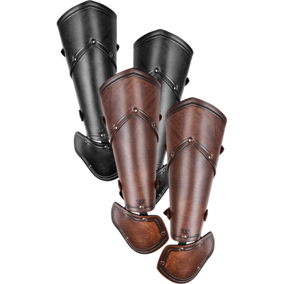 Sigfrid Leather Demi Gauntlets