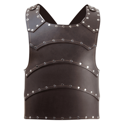 Baudouin Leather Breastplate