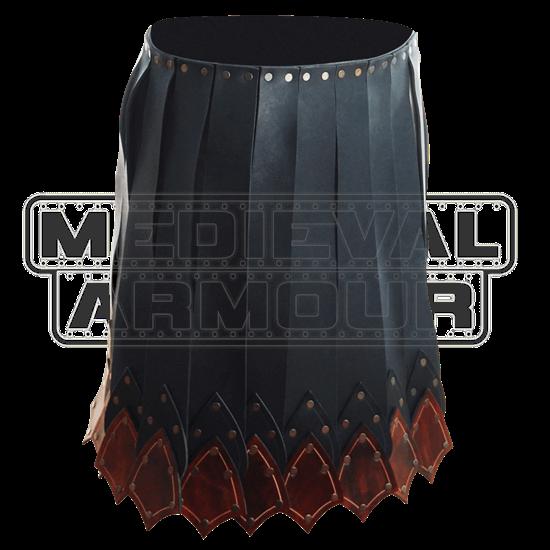 Praetorian Leather Battle Skirt