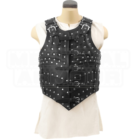 Leather War Vest