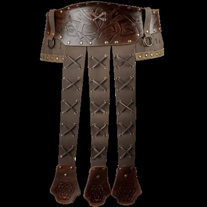 Odomar Viking Leather Belt