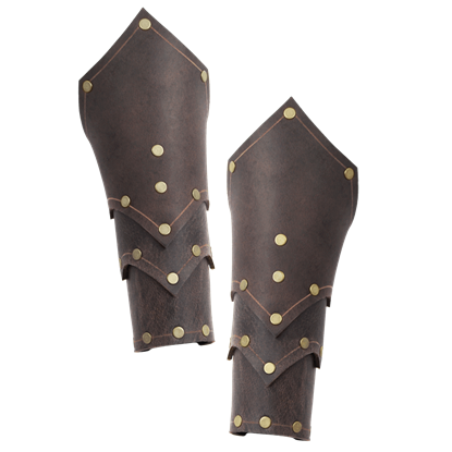 Behan Leather Bracers