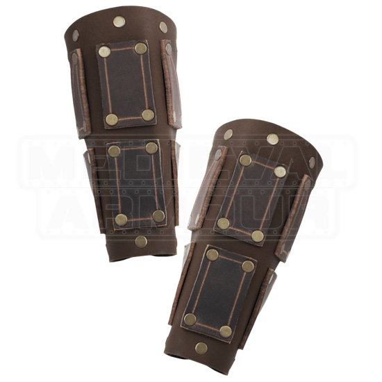Bohemond Leather Bracers