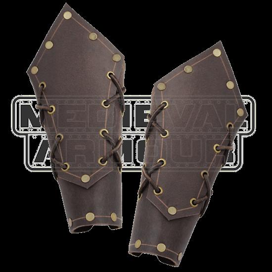 Borge Leather Bracers