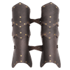 Behan Leather Greaves