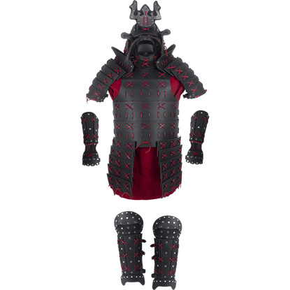 Leather Samurai Full Armour Set
