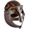 Odomar Viking Leather Helmet