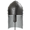 Viking Spangenhelm - Dark Metal Finish